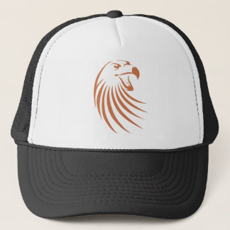 Golden Eagle Logo Trucker Hat