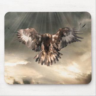 Golden Eagle Mouse Mat
