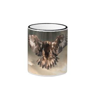 Golden Eagle Ringer Mug