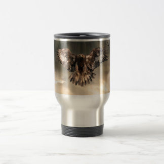 Golden Eagle Stainless Steel Travel Mug
