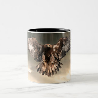 Golden Eagle Two-Tone Mug