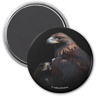Golden Eagles: Beauties Thru the Bars 7.5 Cm Round Magnet