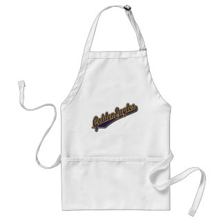 Golden Eagles in Gold and Blue Standard Apron