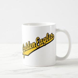 Golden Eagles in Gold Mug
