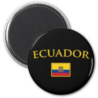 Golden Ecuador Magnet