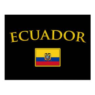 Golden Ecuador Postcard