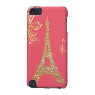 Golden Eiffel Tower Custom iPod Touch 5G Case