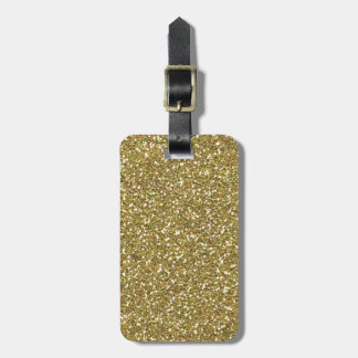 Golden Elegance Decor Luggage Tag