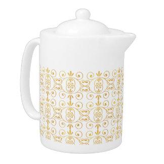 Golden Elegance Medium Teapot