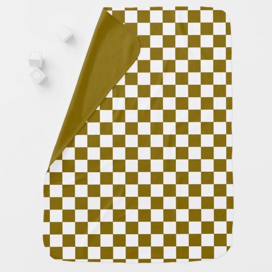 Golden Elm Chequerboard Reversible Buggy Blankets