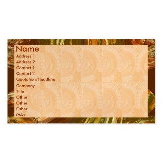 Golden Engraved Look - Flame Border Pack Of Standard Business Cards