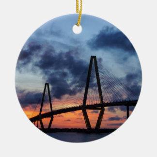Golden Evening At Arthur Ravenel Christmas Ornament