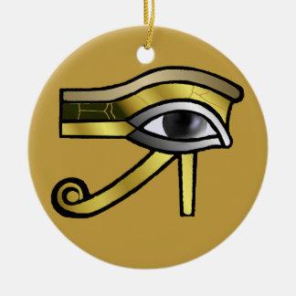Golden Eye of Horus Decoration