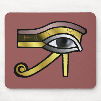 Golden Eye of Horus Mouse Pad