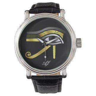 Golden Eye of Horus Watch
