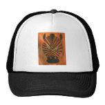 Golden Eyed Zebra Hat