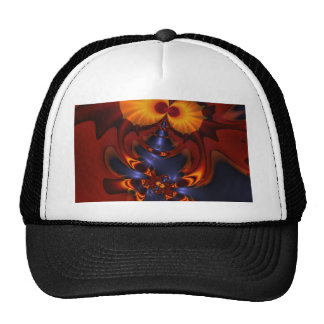 Golden Eyes – Amethyst & Amber Enchantment Trucker Hats
