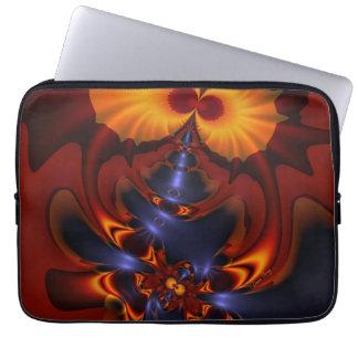 Golden Eyes – Amethyst Amber Enchantment Laptop Computer Sleeve