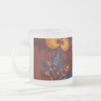 Golden Eyes – Amethyst & Amber Enchantment Coffee Mug