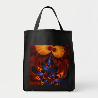 Golden Eyes – Amethyst & Amber Enchantment Tote Bags