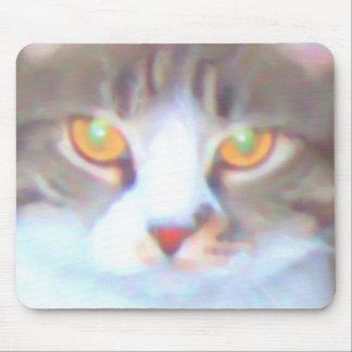 Golden Eyes mousepad