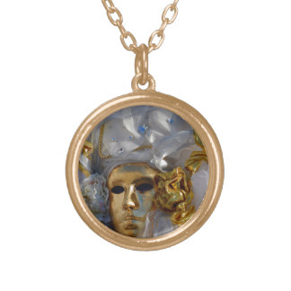 Golden Face Gold Plated Necklace