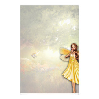 Golden Fairy Stationery
