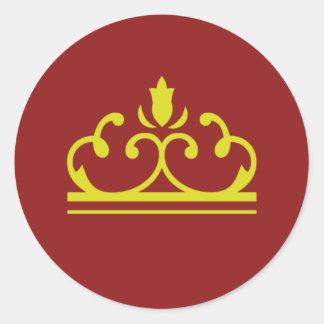 Golden Fairy Tale Sticker (red)