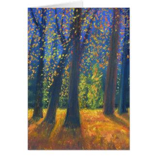 Golden Fall Card