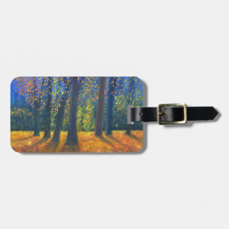 Golden Fall Luggage Tag