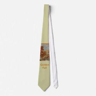 Golden Fall Tie