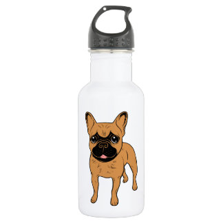 Golden Fawn Frenchie 532 Ml Water Bottle