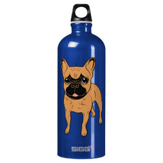 Golden Fawn Frenchie Water Bottle
