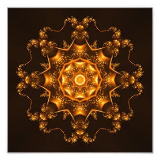 Golden fibula art photo