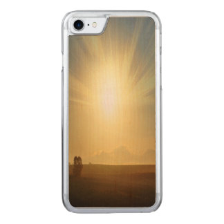Golden Fields iPhone 6 Wood Carved iPhone 8/7 Case