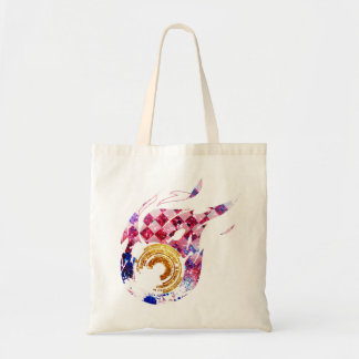 Golden Fire Phone Tote Bag