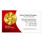 Golden Fish IXOYE Christian Symbol Minister/Pastor