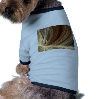 Golden Flair Bright Blast Starburst Design Pet T-shirt