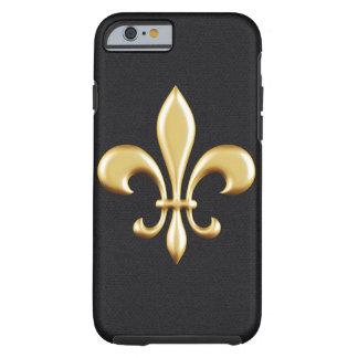 Golden Fleur De Lis Tough iPhone 6 Case