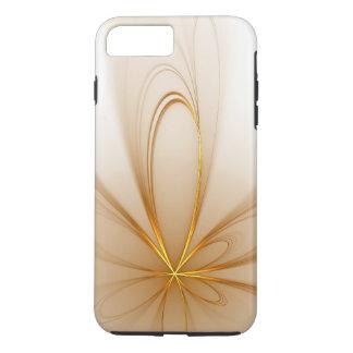 golden floral fractal iPhone 8 plus/7 plus case