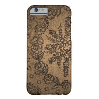 Golden florals iPhone case