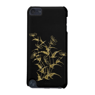 Golden flower iPod touch (5th generation) cover