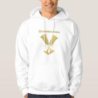 Golden Flutes Groomsman Gift Hoodie