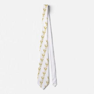 Golden Flutes Groomsman Gift Tie