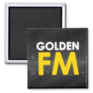 Golden FM Magnet