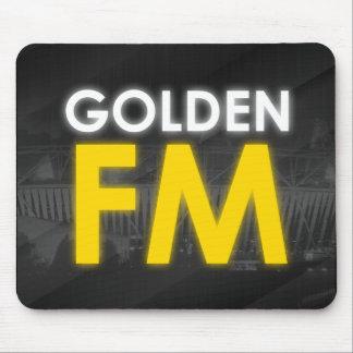 Golden FM Mouse Pad
