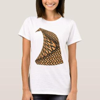 Golden Folded Bird T-Shirt