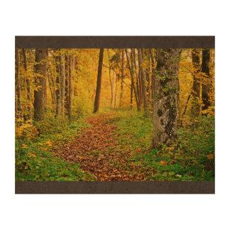 Golden Fores In Sigulda Photo Cork Paper