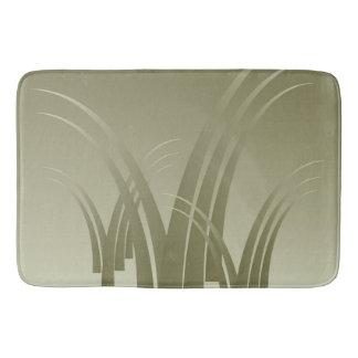 Golden forest bath mats