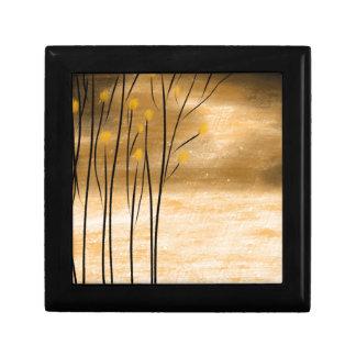 Golden forest gift box